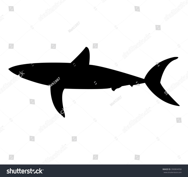 shark fin white background - photo #18