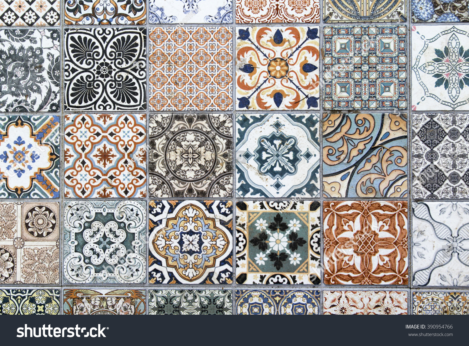 Vintage floor tile texture background stock photo 390954766 vintage floor tile texture background doublecrazyfo Image collections