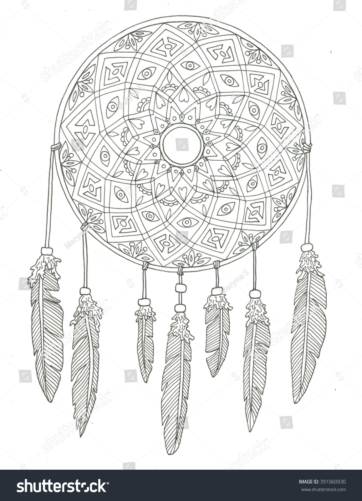 Stunning Dream Catcher Coloring Pages Ideas New Printable