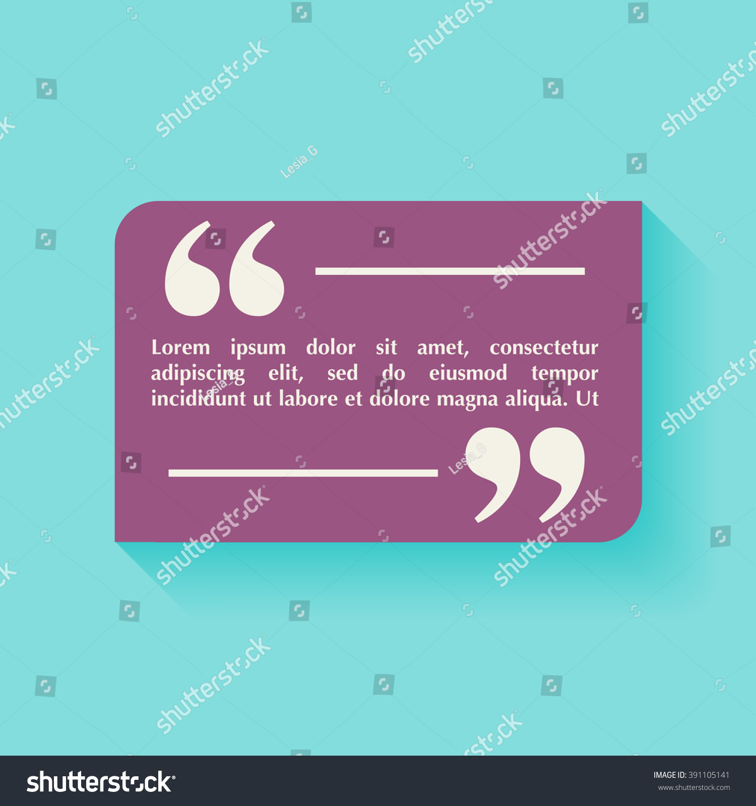 Quote blank template design elements circle stock vector 391105141 quote blank template design elements circle business card template paper sheet information magicingreecefo Image collections