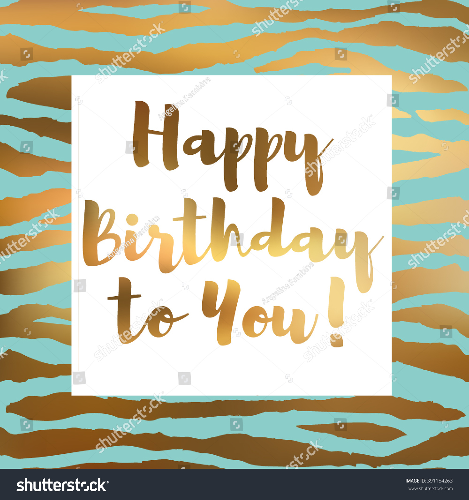 happy birthday you lettering gold frame stock vector happy birthday you birthday card gold stock vector 146