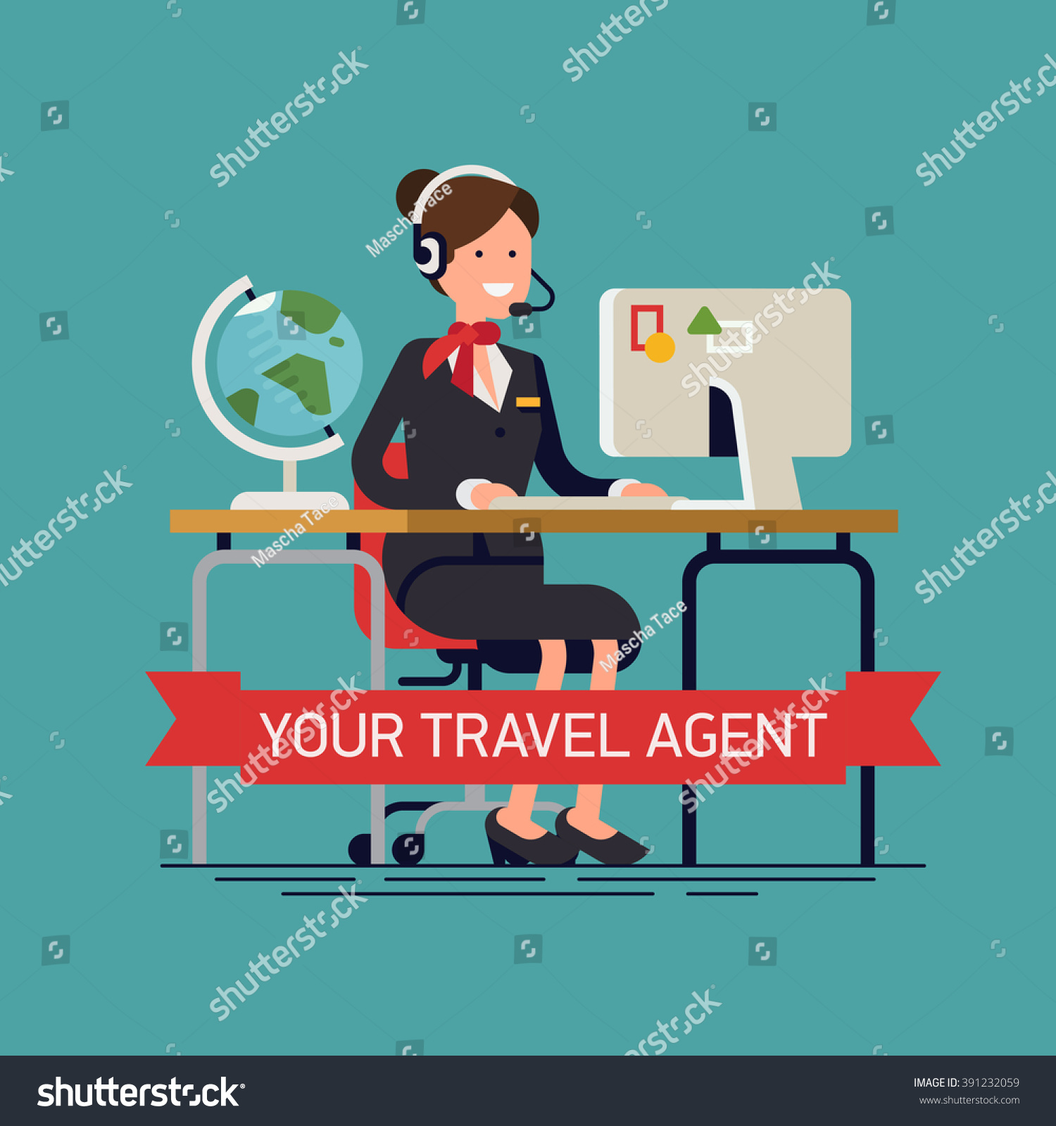 Office Clipart Travel