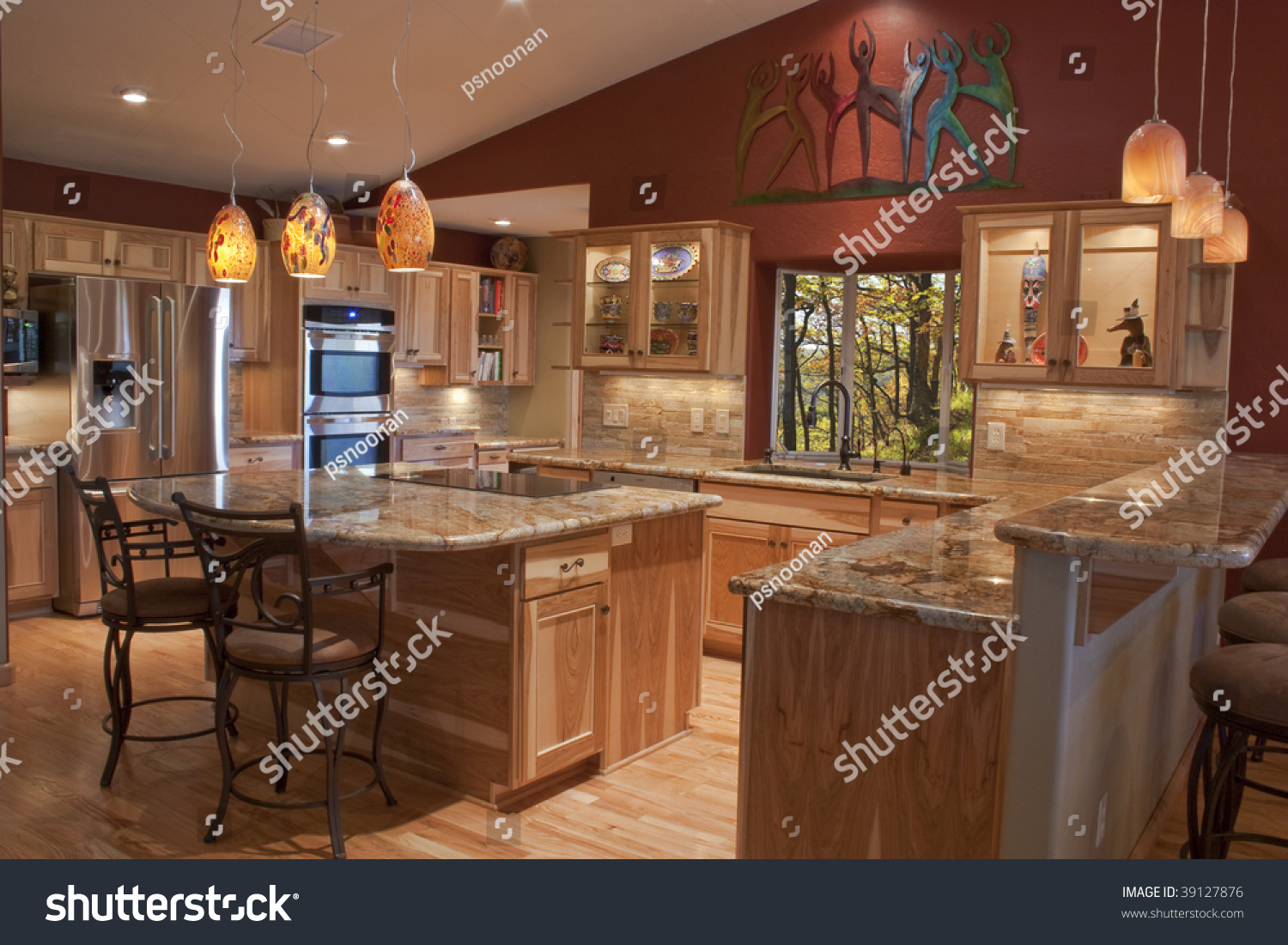 Kitchen With Granite A Luxury Remodeled Kitchen With Granite Countertops And Stainless