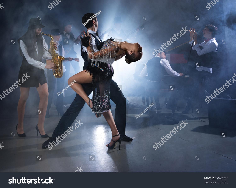 Ballroom dancing removable and reusable music wall mural