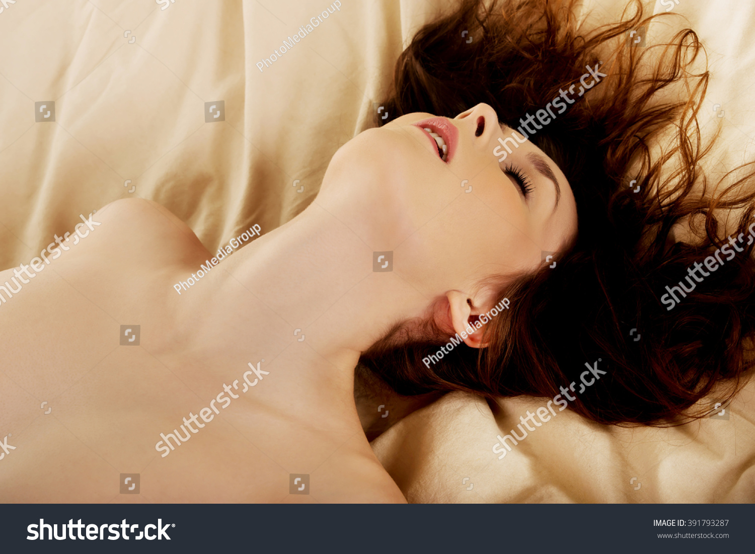Woman Bed Getting Orgasm Stock Photo 391793287 - Shutterstock-3849