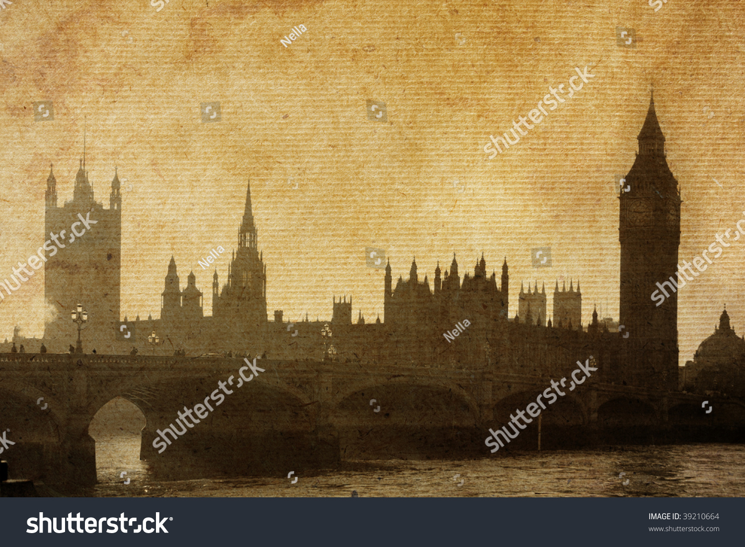 big view photography. Buildings Of Parliament With Big Ben Tower In London UK View From Photography