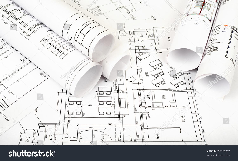 House plan blueprint architectural drawing part of architectural house plan blueprint architectural drawing part of architectural project ez canvas malvernweather Choice Image