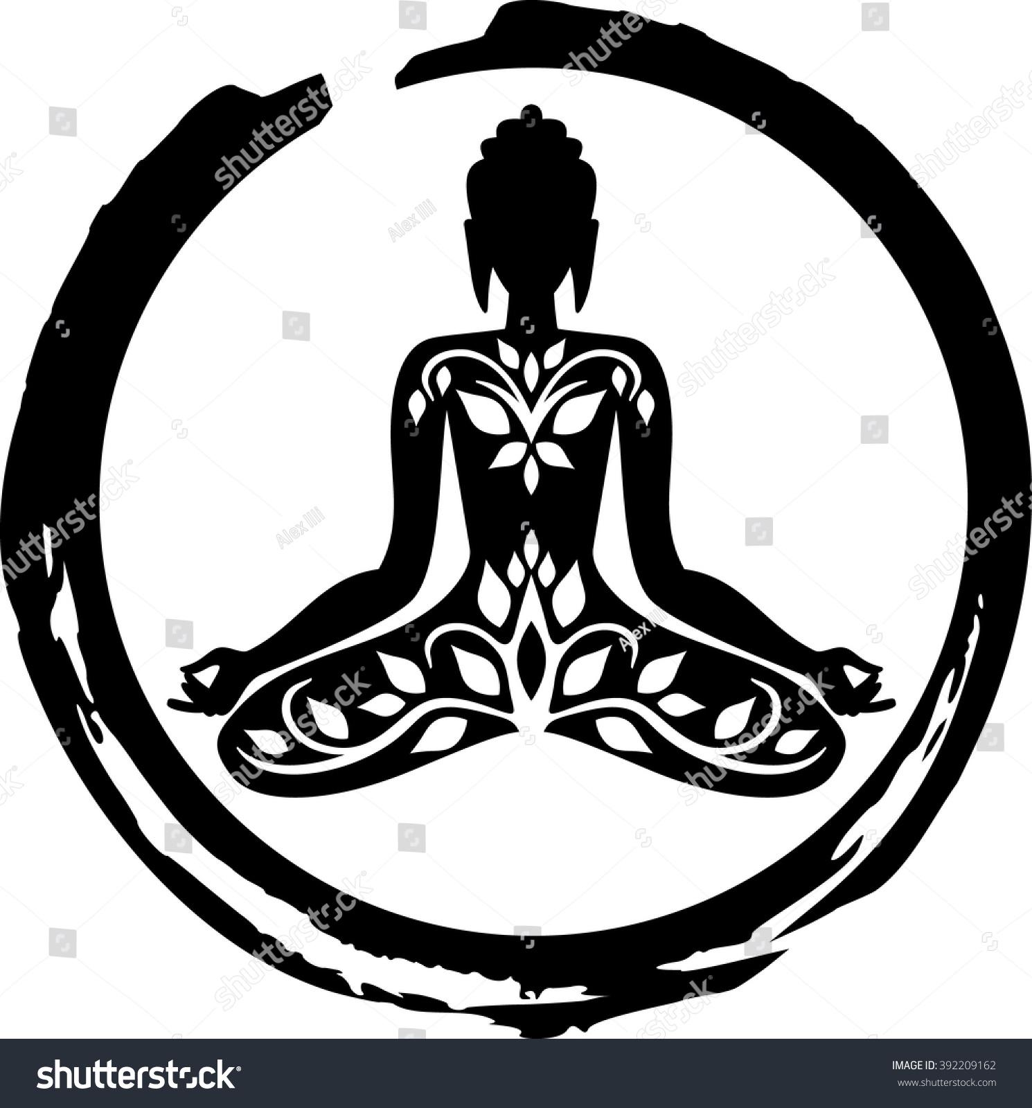 Buddha symbol stock vector 392209162 shutterstock buddha symbol biocorpaavc