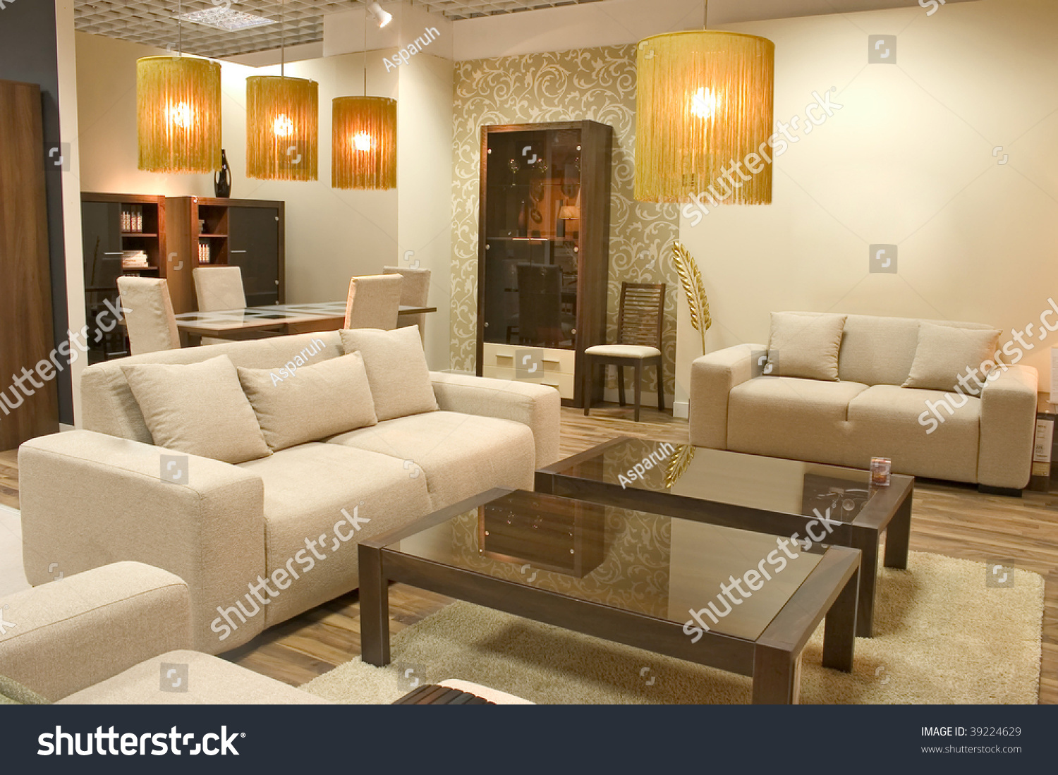 Warm Colors For A Living Room Modern Living Room With Warm Colors Two Big Sofas And A Caffee