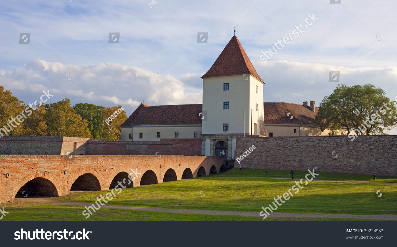 Sarvar Hungary  city pictures gallery : Sarvar Castle In Hungary Stock Photo 39224983 : Shutterstock