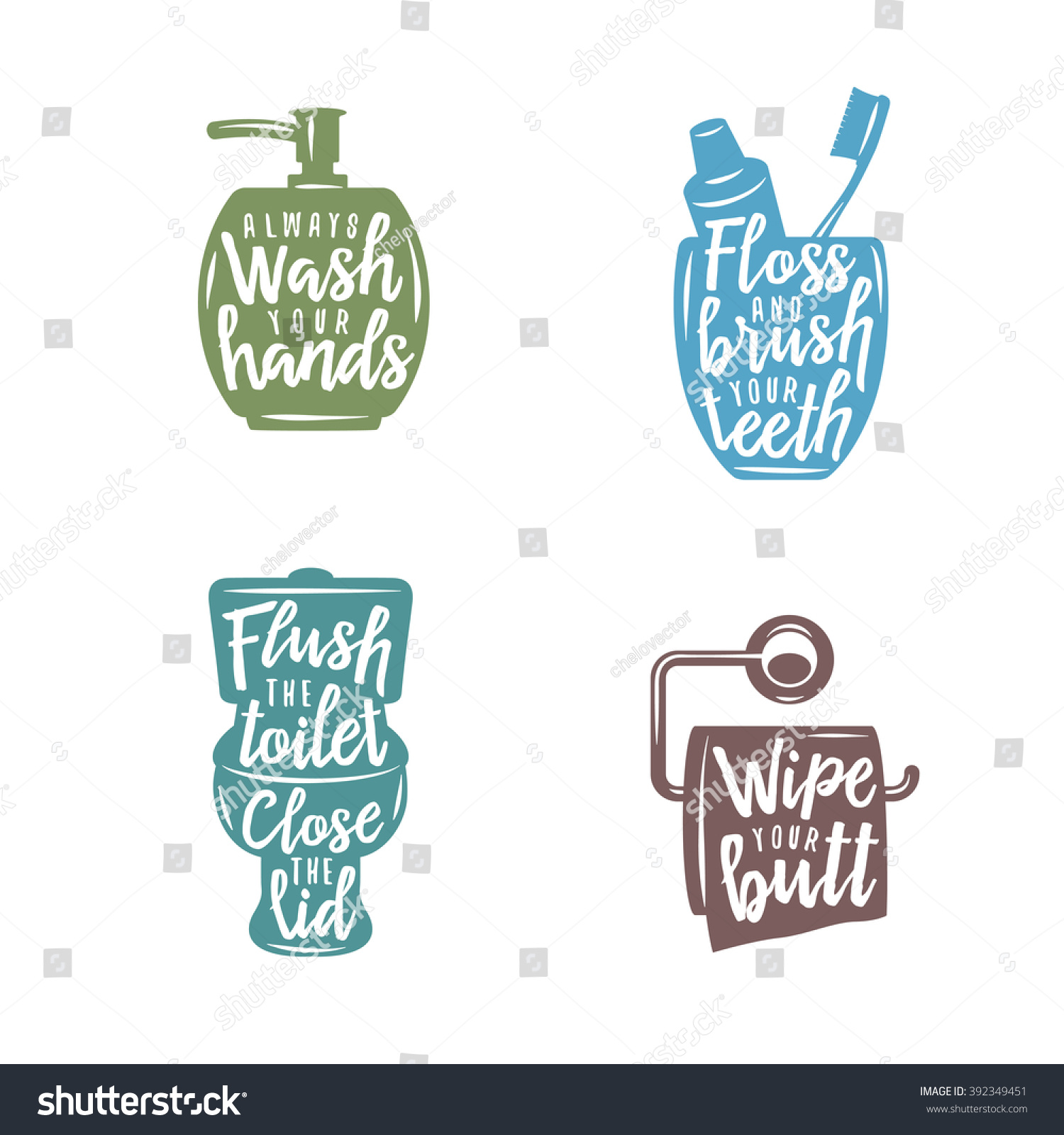 Bathroom related vintage posters quotes always stock for Bathroom quotes svg