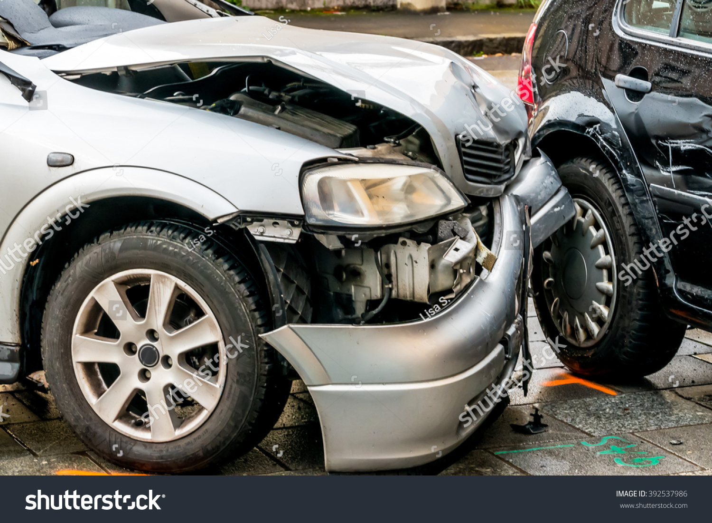 Sheet Metal Damage Cars Stock Photo 392537986 Shutterstock