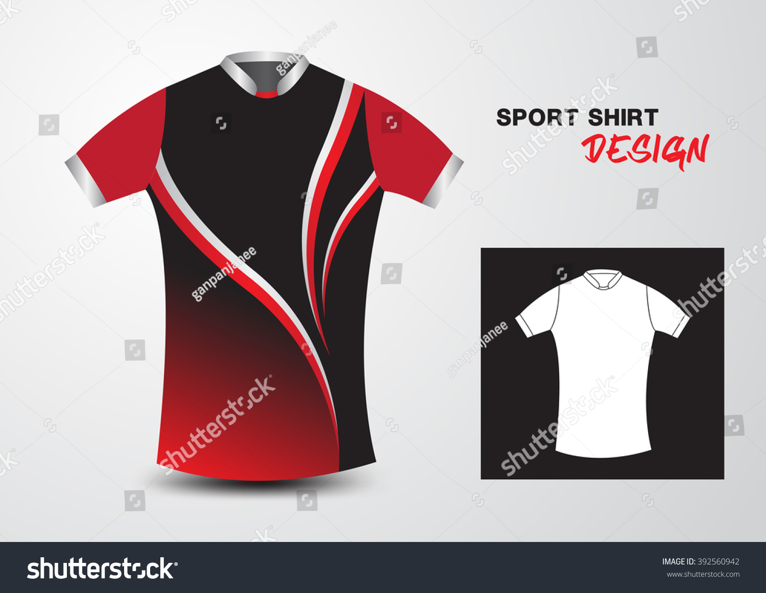 red and black sports - photo #36