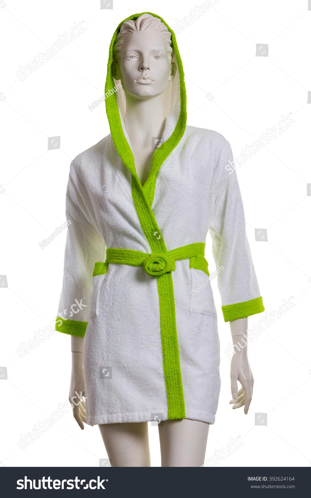 Female Dummy Short White Bathing Dressing Stock Photo (Royalty Free ...