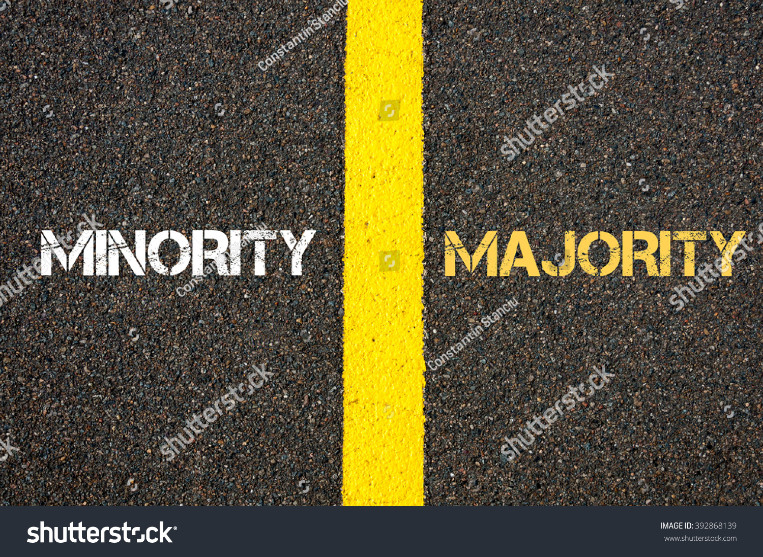 majority vs minorities The majority vote (or sometimes a plurality when there are more than two  made  and that minorities could not prevent the majority from deciding an issue or an.