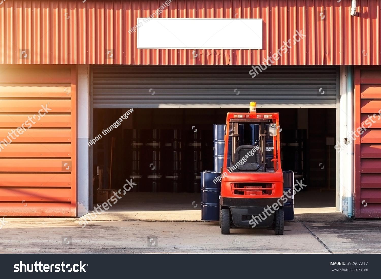 Forklift truck Oil truck