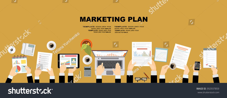 Set Flat Design Illustration Concepts Business Stock Vector 392937859 Shutterstock