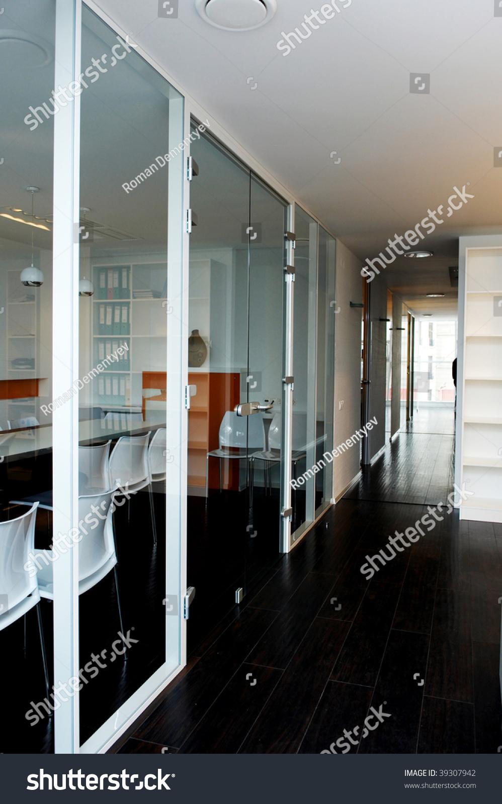 Door Glass Business Office Stock Photo Edit Now 39307942