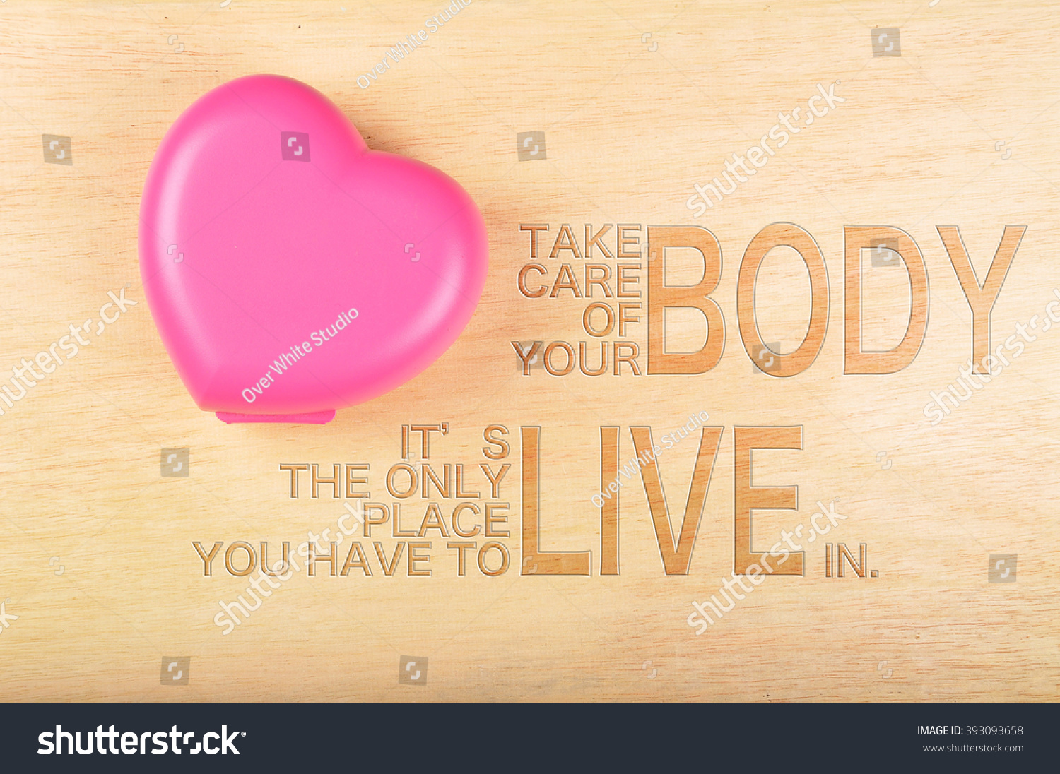 Inspirational Motivation Quotes Take Care Your Stock Photo Edit Now
