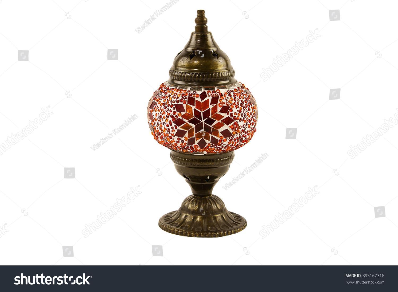 Turkish table lamp stock photo 393167716 shutterstock turkish table lamp geotapseo Gallery