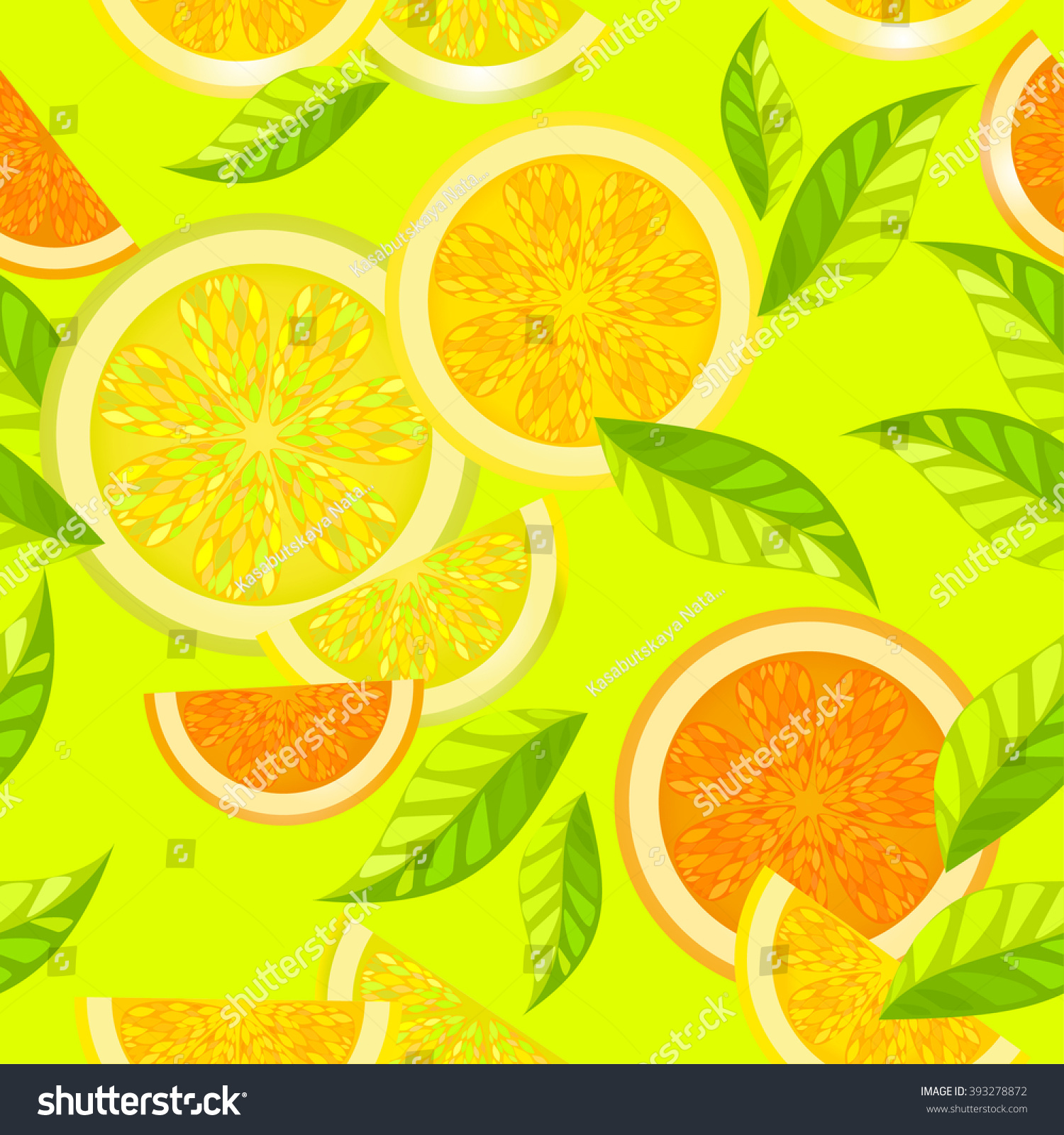 Seamless Decorative Pattern Wallpaper Background Bright 393278872