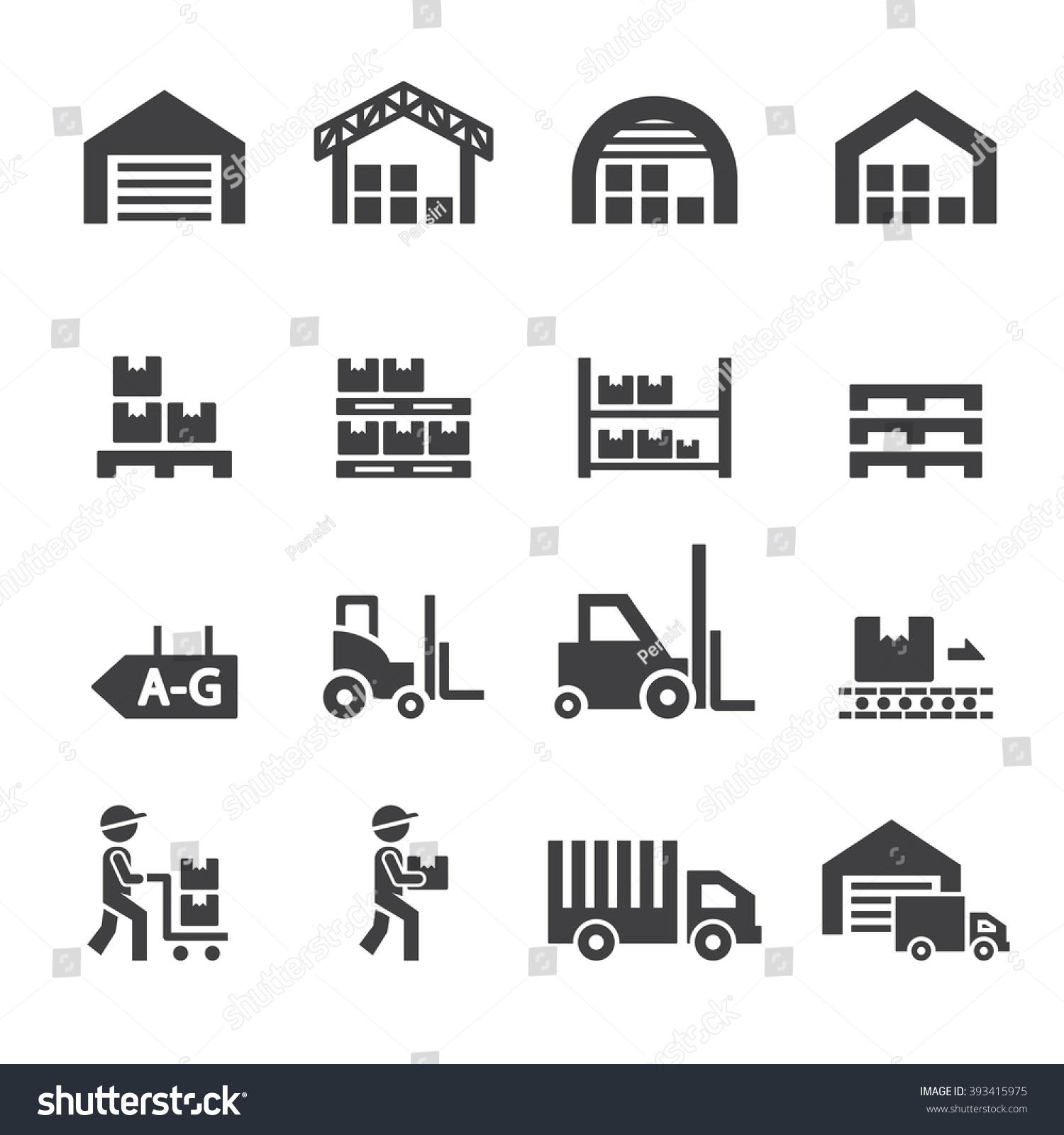 Warehouse Icon Immagin...