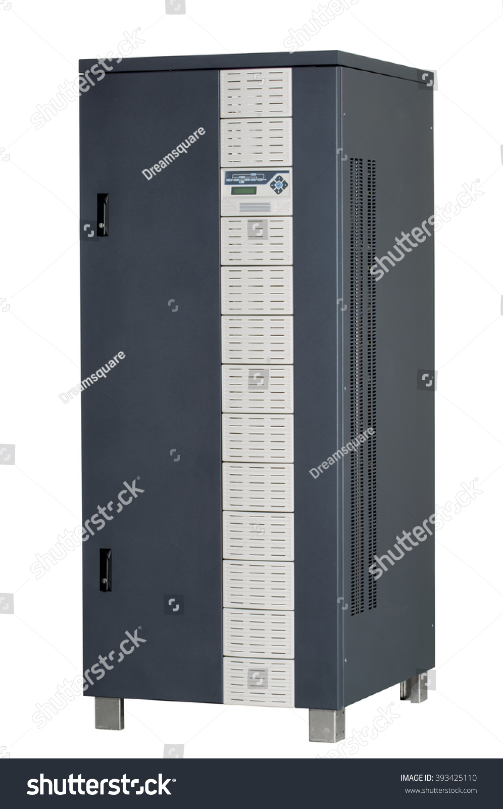 Electrical Enclosure Door Closed Could Be Stock Photo Edit Now Fuse Box With Its Circuit Breaker