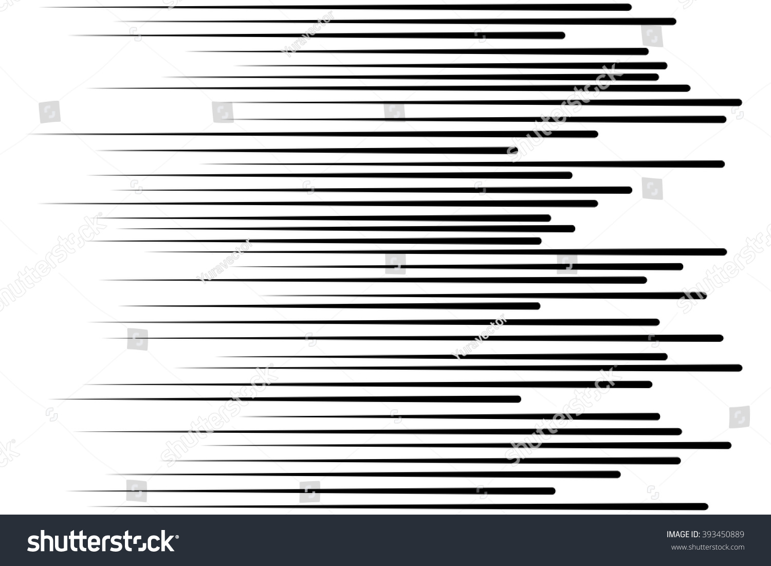 Speed Lines Flying Particles Seamless Pattern Stock Vector