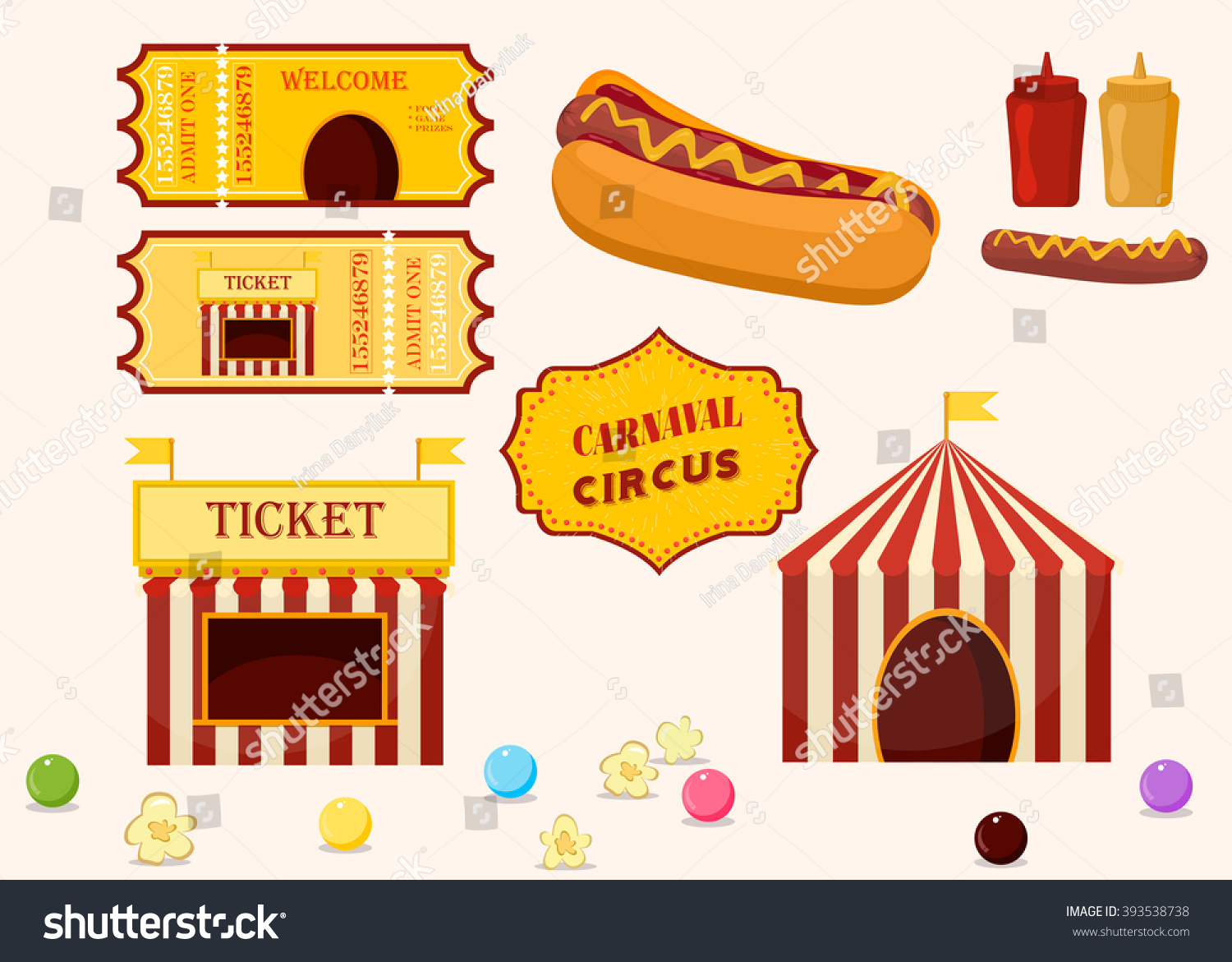 Carnival Ticket Invitation was best invitations template