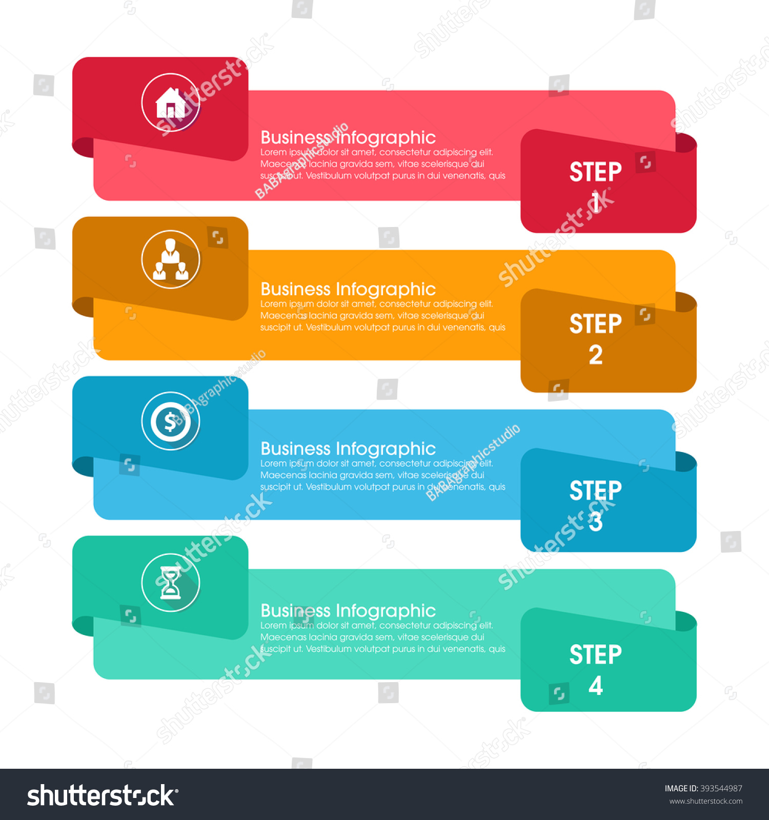 Business Infographics Vector Illustration Can Be Stock Vector ...