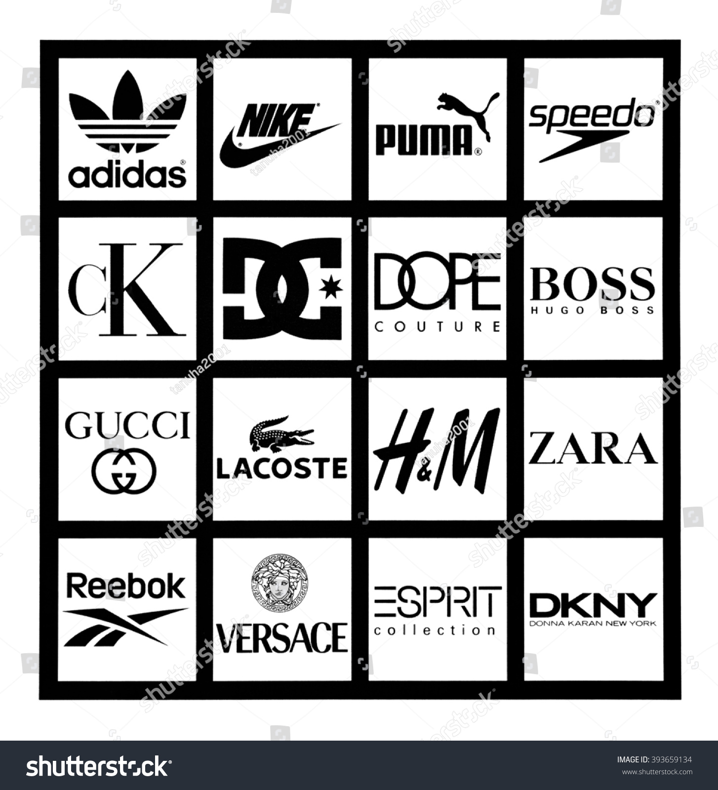 Showing Media & Posts for Most popular clothing brand logos | www ...