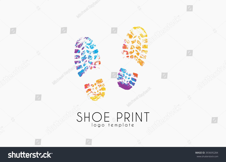 Shoe Print Logo