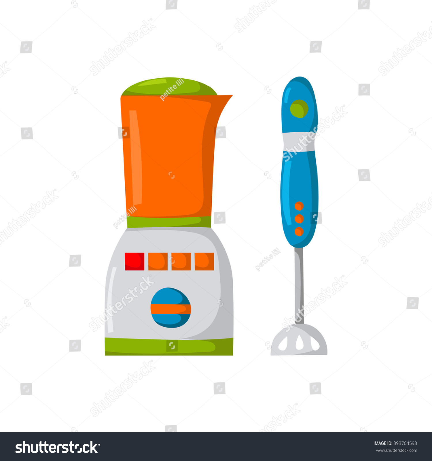 Uncategorized Cute Kitchen Appliances vector illustration cartoon mixer blender kitchen stock with and appliances background cute logo with
