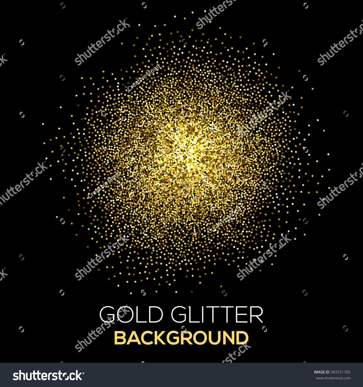gold party vector - photo #22