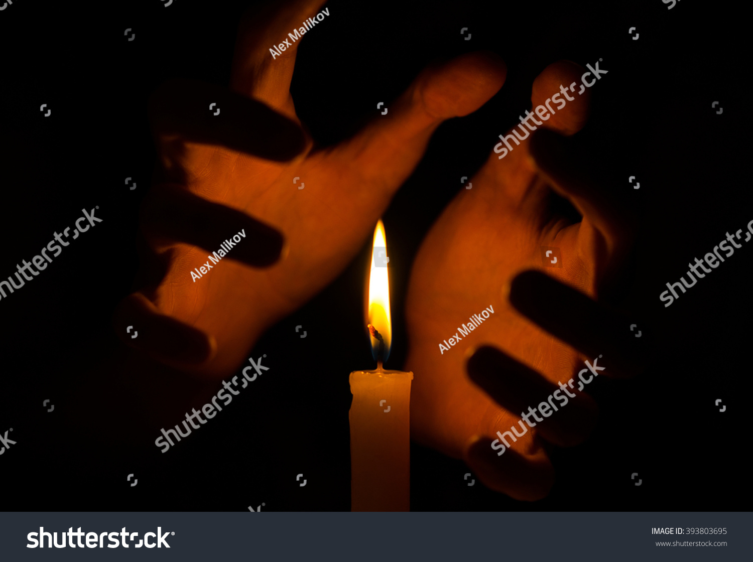 Spell Spirituality Topic Witches Hand Holding Stock Photo ... for Holding Candle In The Dark  181plt
