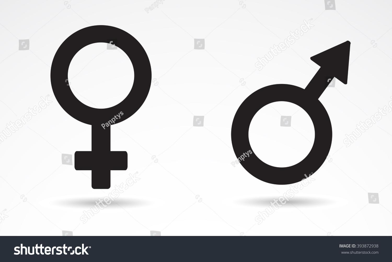 Sex male female symbol icon vector stock vector 393872938 sex male female symbol icon vector art buycottarizona