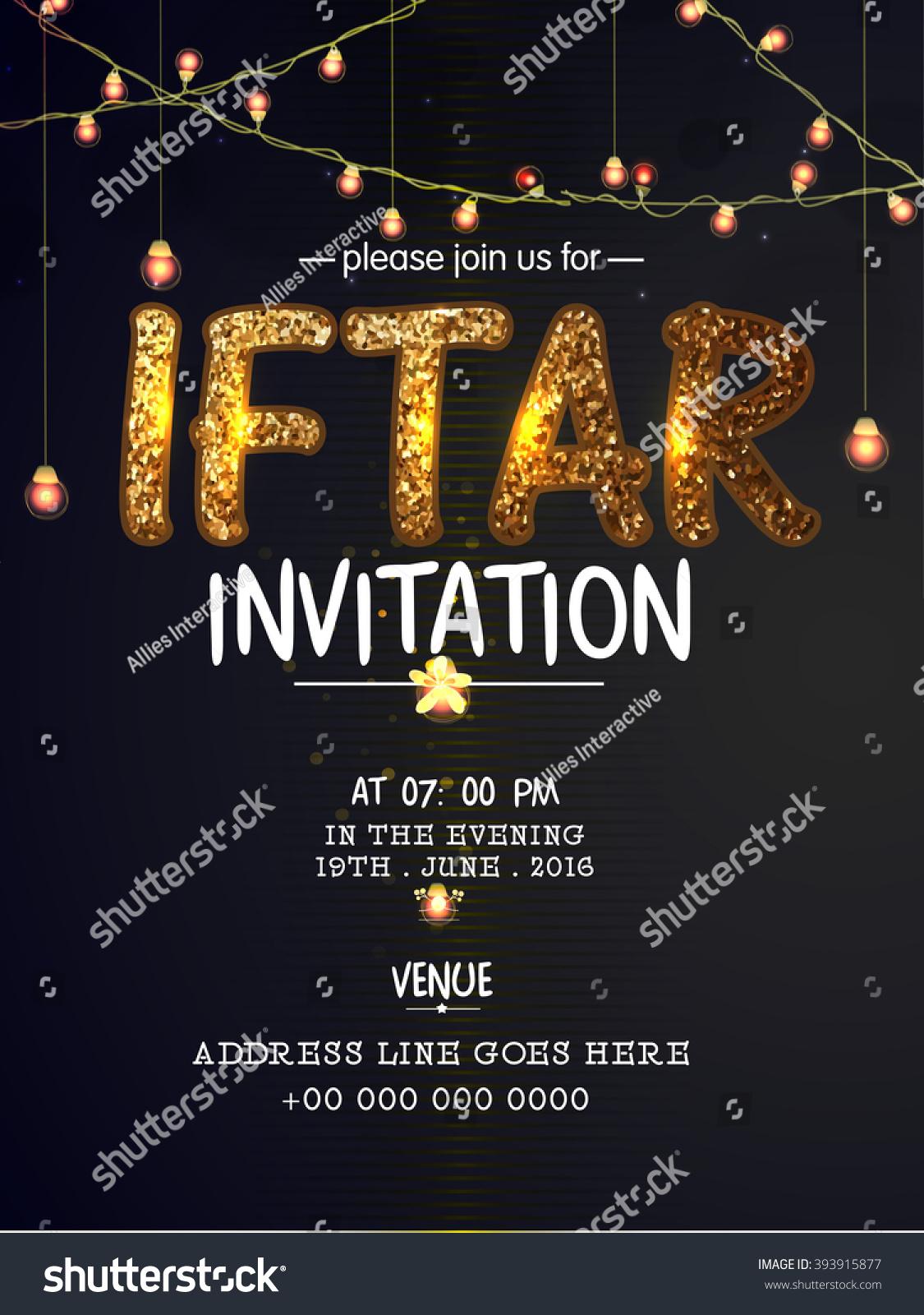 elegant invitation card design decorated golden ベクター画像素材