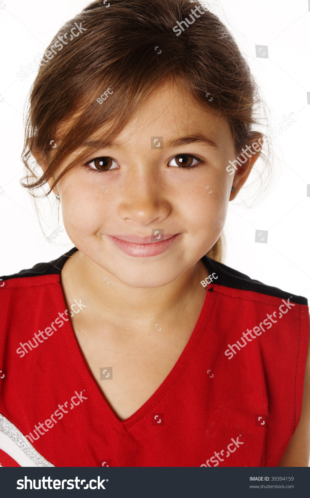 Grimace face clip art stock photo woman pulls a face in upset - Cute Mixed Race Girl