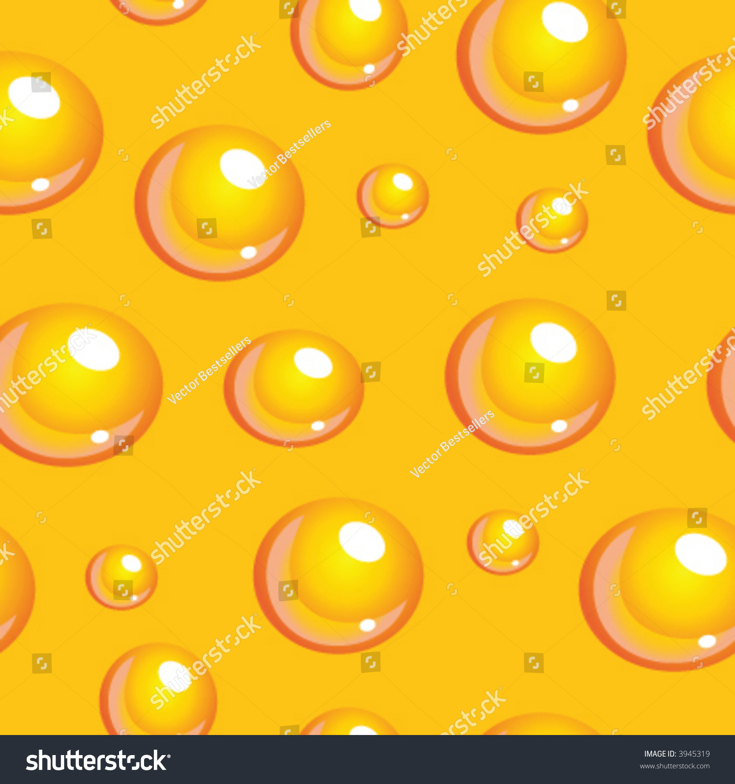 seamless vector texture with beer bubbles you can create