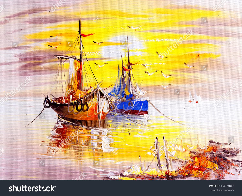 Oil Painting People