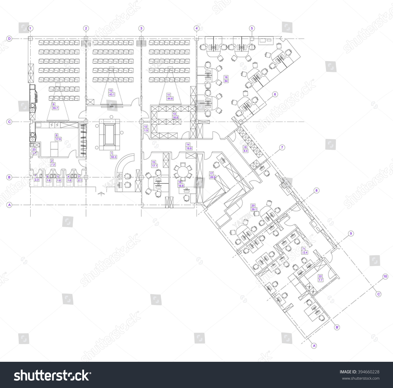 office furniture plans. Standard Office Furniture Symbols Set Used In Architecture Plans, Planning Icon Set, Graphic Plans