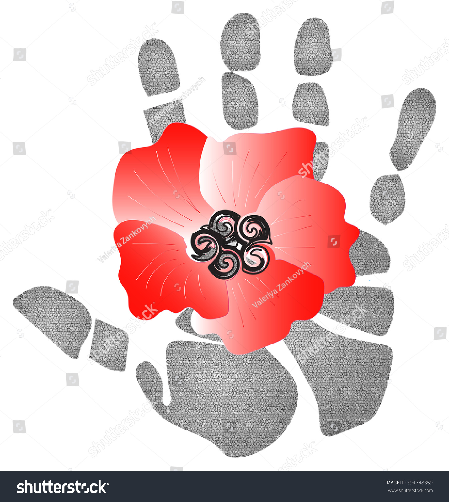 Red poppy flowers ornamental plants symbol stock illustration red poppy flowers are ornamental plants and a symbol of sleep peace blood buycottarizona