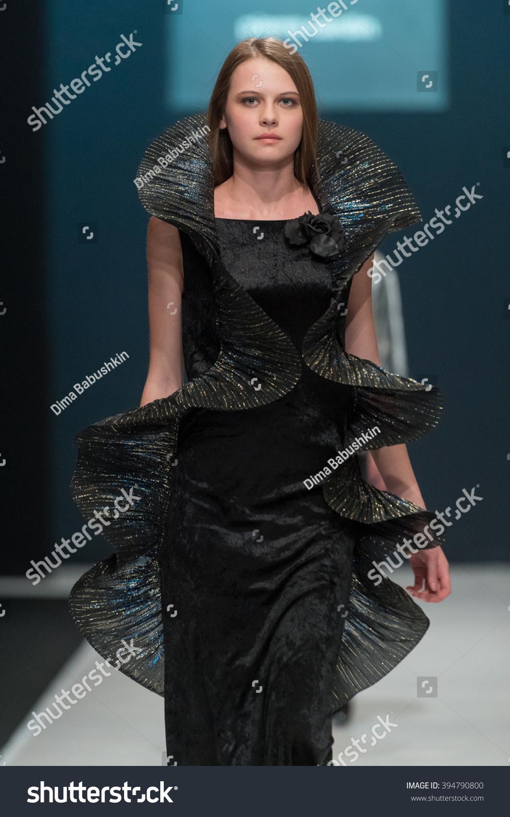 barcelona january 26 a model walks on the justicia ruano catwalk