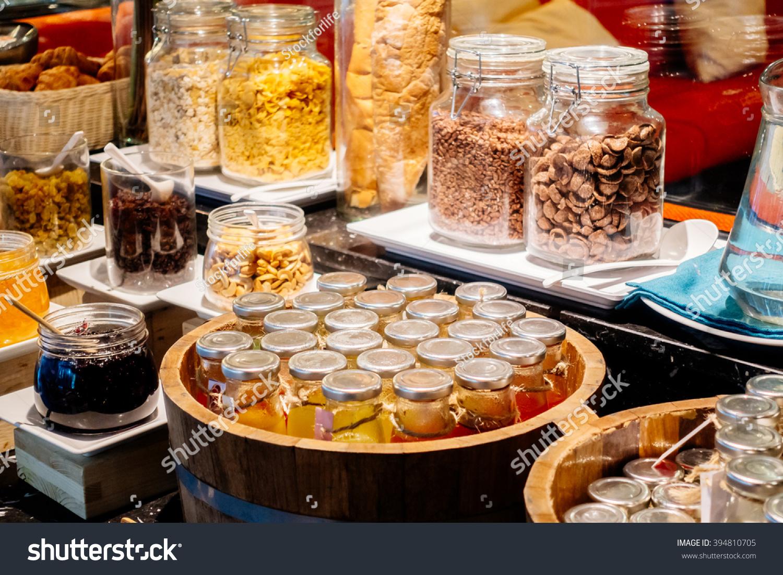 Selective Focus Point On Breakfast Buffet Stock Photo 394810705 Shutterstock