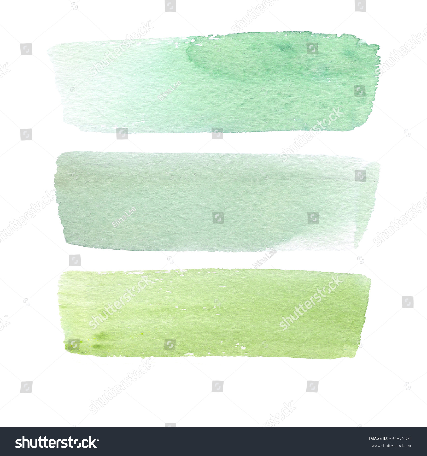 Colorful Watercolor Brush Strokes Watercolor Background Stock