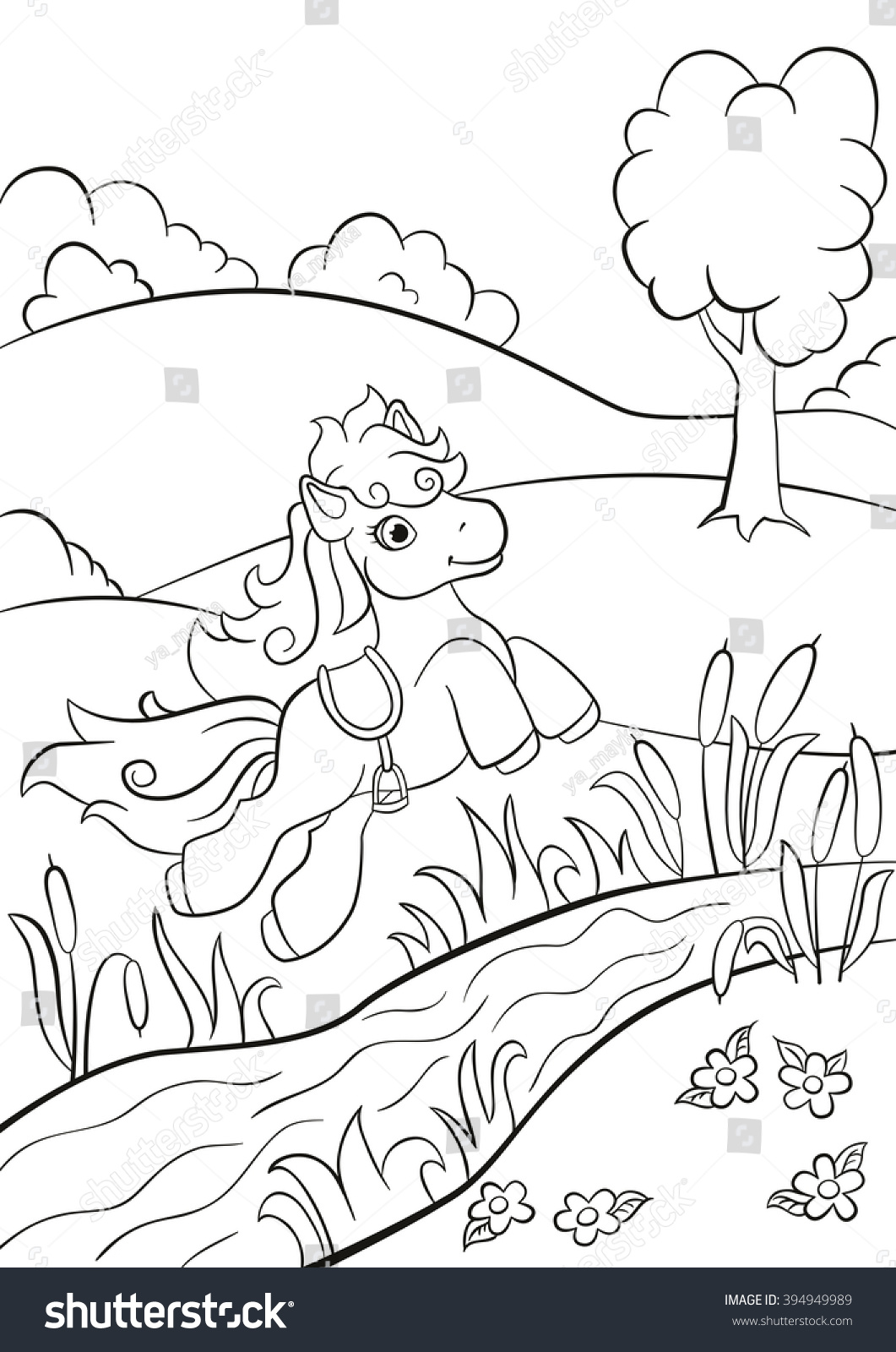 River coloring pages | Coloring pages to download and print | 1600x1061