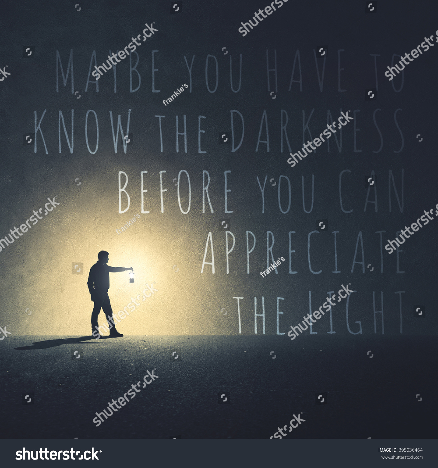 Light Quote Quote Light Darkness Stock Photo 395036464  Shutterstock