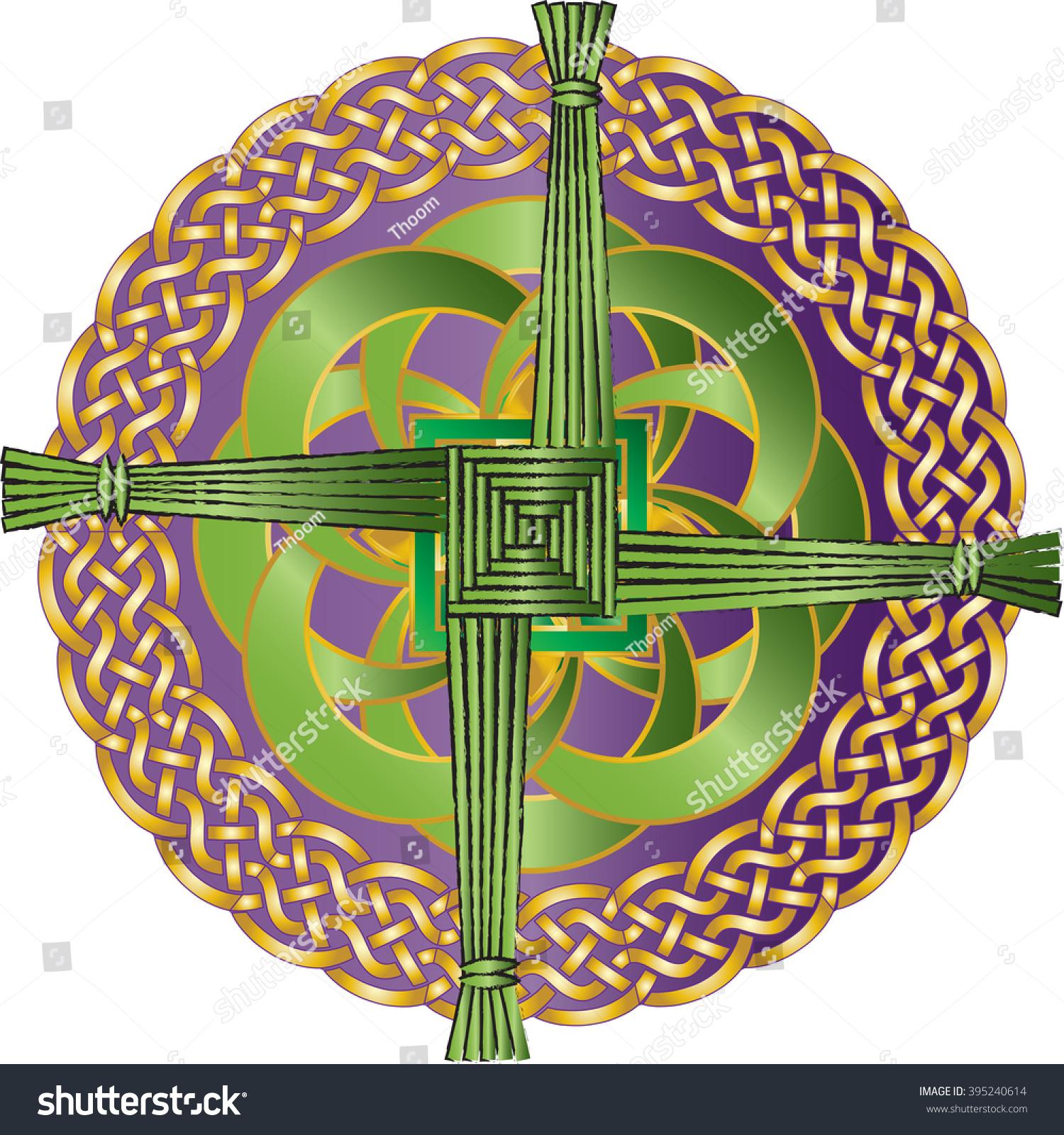 irish celtic knot ornament cross st stock illustration 395240614 shutterstock. Black Bedroom Furniture Sets. Home Design Ideas