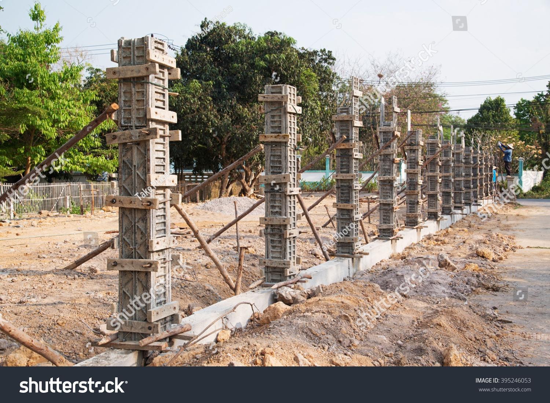 Pillar Concrete Buildings : Concrete pillar mold house constructiontemplate reinforced