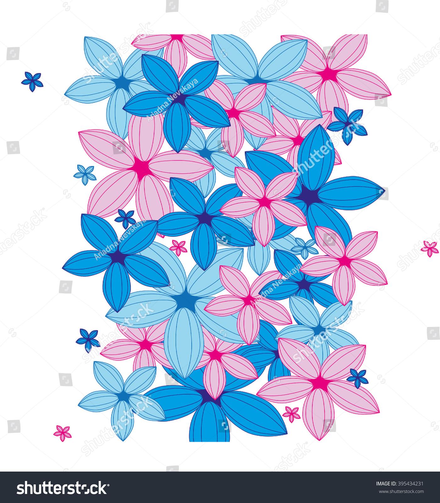 Hawaiian flowers pink flowers blue flowers stock vector 395434231 hawaiian flowers pink flowers blue flowers stock vector 395434231 shutterstock mightylinksfo